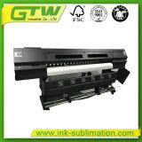 Impressora Inkjet do Largo-Formato avançado novo de Oric 3.2m com cabeças dobro da impressora Dx-5