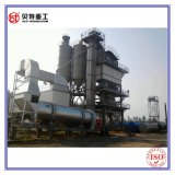 Mezcla de lotes máquina mezcladora de asfalto de la capacidad de 80 toneladas por hora con baja emisión de ruido bajo