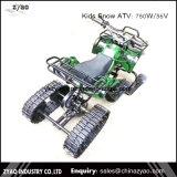 I capretti di Zyao Snowmobile il motorino d'acciaio bidirezionale ATV elettrico del pattino della bici della neve delle piste della gomma