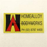Signes de rue en aluminium de plaque de porte de l'Australie