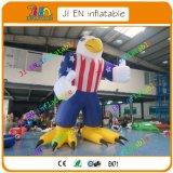 20FT/6m riesiges aufblasbares, Adler USA-Karikatur, preiswerte aufblasbare im Freienbekanntmachenkarikatur für Verkauf
