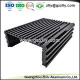 Het aangepaste Profiel van het Aluminium met CNC het Machinaal bewerken & Oppervlaktebehandeling voor Heatsink