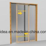 дверь Slidding воздушного давления охраны окружающей среды 150cm полуавтоматная - более близко