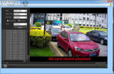 Wireless HD 1080P 20X Zoom Óptico Cámara IP PTZ Starlight