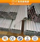 Perfil de aleación de aluminio puerta de persiana de enrollar