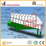 Xf 시리즈 수평한 유동성 침대 건조용 기계