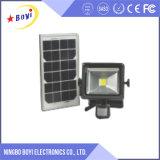 Indicatore luminoso di inondazione solare, lampade dell'inondazione del LED