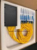 Gpon 원거리 통신에 의하여 착색되는 섬유 1X32 PLC 쪼개는 도구 시스템