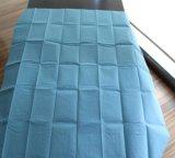 Cama não tecido impermeável descartável de folha de cobertura com elástico