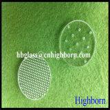 Matériel gm personnaliser de percer le trou de la plaque de verre de quartz silice