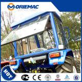 Lutongの農業は4WD 55HPの農場の車輪のトラクターLyh554を機械で造る