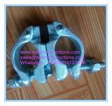 Coffre-fort durables Double raccord pour tuyau d'Échafaudage