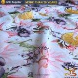 Hermosa la impresión digital mayorista chino gasa vestido tejido