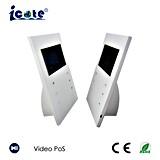 LCD van 10.1 Duim VideoKaart POS met Kabel USB voor het Laden