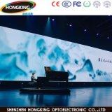 Parede video interna elevada do diodo emissor de luz da cor cheia de contraste P3 para o concerto
