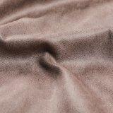 Suède chaud de ventes avec l'estampage chaud pour le tissu de sofa