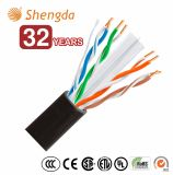 Venta caliente UTP Cat5e/Cat6 Nexans/AMP/D-Link Cable de red LAN