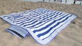 防水浜のキャンプのピクニックMoistureproofピクニックマット