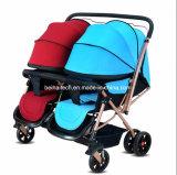 2017 heißer Verkäufe Luxury& Form-Baby-Spaziergänger für Zwilling-Baby