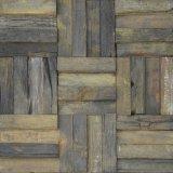 Parede de madeira Mosaico Preço Mosaico mosaico de parede de madeira antigas recuperadas