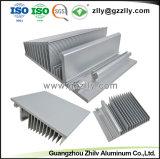 Alto desempenho o dissipador de calor em alumínio anodizado para luz de LED