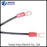 Fil électrique isolé fait sur commande en gros et câble matériels de conducteur de type et d'en cuivre