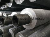 Tubo de aleta compuesto del metal doble inoxidable y de aluminio para el cambiador de calor