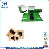 Rectángulo de empaquetado de papel ecológico con la ventana clara