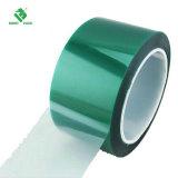 Pet verde cinta adhesiva de silicona resistente a altas temperaturas de cinta para la soldadura de PCB