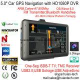 "5.0"" Android 6.0 Car DVR с GPS-навигации, WiFi; 1 ГБ DDR; 8 ГБ флэш-памяти, 2.0mega FHD1080p Car камера, G-Sensor, Adas цифровое записывающее устройство автомобиля; планшетные ПК карты Google"