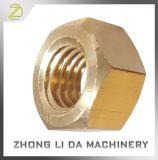 真鍮製のボルトの固体黄銅360個の十分に終えられた十六進ナット