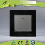 Modo certificato del gruppo 1 del vetro temperato 1 di standard europeo dei CB del CE di TUV con l'interruttore NERO della parete del LED