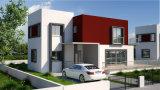 Casa Modular prefabricados de estructura de acero T Tipo prefabricados moderna casa