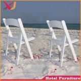 La resina de plástico/silla plegable para piscina/playa/banquete de bodas//restaurante/Hotel/Jardín