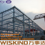 Q345 Structurebuilding de acero industrial barato, estructura de acero vertida/almacén