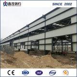 大きいスパンが付いている電流を通された鉄骨構造の倉庫