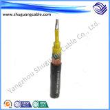 PVC изолированный и обшил/стальной провод Armored/минирование/кабель системы управления пламени Retardtant/