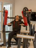 Abdachungs-Brust-Presse/Handelshammer-Stärken-Gymnastik-Maschine/Eignung-Gerät