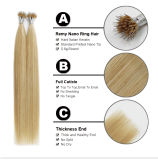 Nanoビードの毛の拡張、Keratineの前担保付きの人間の毛髪