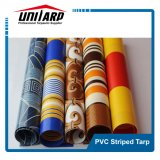 1000d PVC Color Striped Tarpaulin for Awnings, Tents, Shades