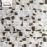 Mezclar el color de la cocina de la fábrica Backsplash mosaico de vidrio