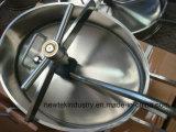 衛生楕円形内部タンクManwayのステンレス鋼のシリコーンのシーリング