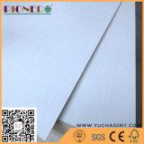 Contre-plaqué conçu blanc de face de placage de peuplier pour des meubles