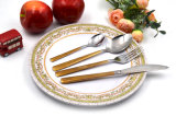Королевский 18/10 Cutlery нержавеющей стали 4PCS установил для людей сервировки 3 или 4