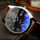 Relojes del cuarzo del reloj de los hombres de la manera del reloj del calendario Z307 para los hombres