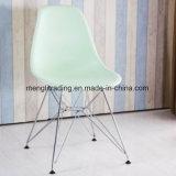 يتعشّى كرسي تثبيت مع مقادة بيضاء بلاستيكيّة