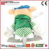 아이를 위한 제조 질 견면 벨벳 장난감에 의하여 채워지는 돼지