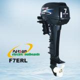 F7ETL 7HP長いシャフトの耕うん機制御電気船外モーター付ボートエンジン