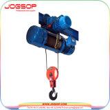Goedkope Elektrische Kraan 1 van het Hijstoestel van Harge van de Lift van de Kabel 2 Ton, de Elektrische Prijs van het Hijstoestel van de Kabel van de Draad