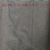 Tela da listra do algodão de seda, tela tingida fio da listra do algodão de seda